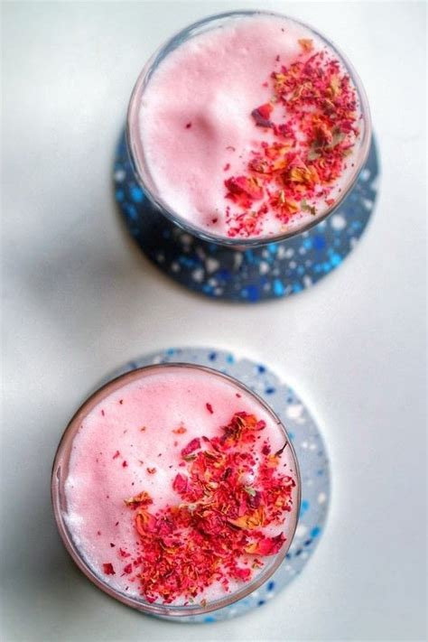 pink rose latte     coffee recipes  cut