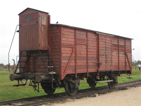 A Cattle Car Used To Transport Jews To Death