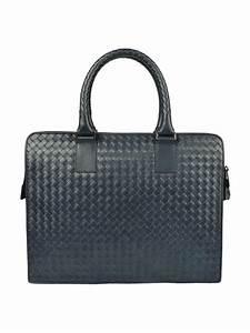 Leather document briefcase by bottega veneta laptop bags for Bottega veneta document bag