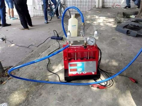 High Performance Fuel Injector Cleaner & Tester With