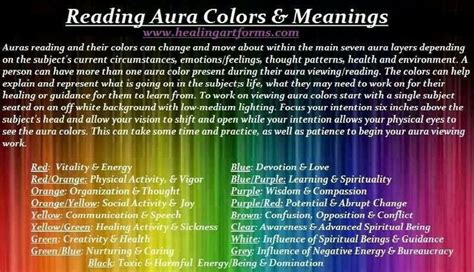 reading aura colors meanings hippy peasant skirt