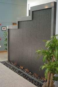 water wall fountain 50 Soothing Indoor Water Features | Ultimate Home Ideas