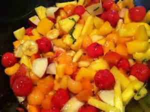 recettes de cuisine thermomix salade de fruits exotiques mes recettes tout simplement