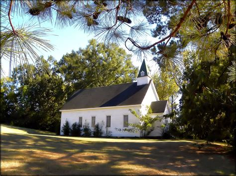 The Old Baptist Church of Chireno, Texas in Historic ...