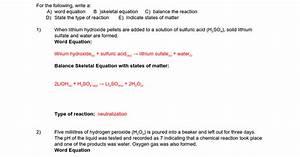 Chem 2 Test Review - 2016 Answers - Google Docs