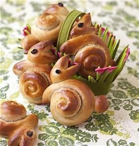 Idee Repas De Paques : brioches lapins de p ques tapes en photo pas pas les meilleures recettes de cuisine d ~ Melissatoandfro.com Idées de Décoration