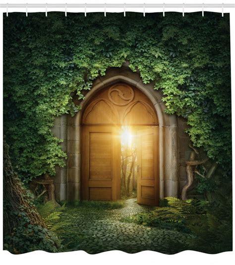 light shine door   secret garden fantasy theme decor