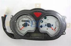 Gy6 50cc Scooter Moped Speedometer Light Gas Gauge Jonway