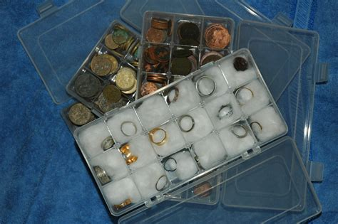 Metal Detecting Finds Display and Storage Cases and Coin ...