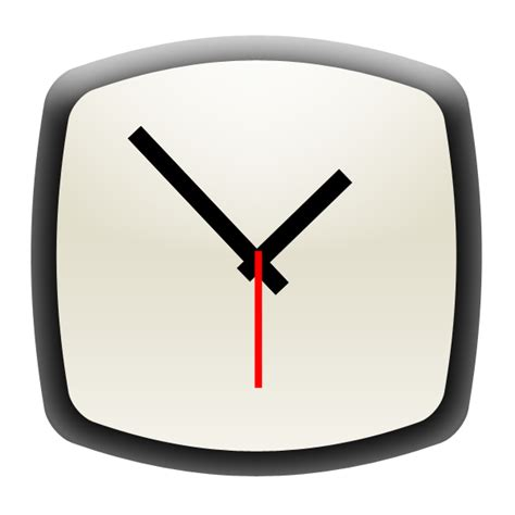 android clock clock icon android application icons softicons