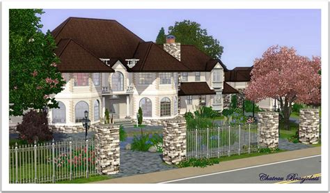 kitchen floor plans free mod the sims chateau beaujolais manor