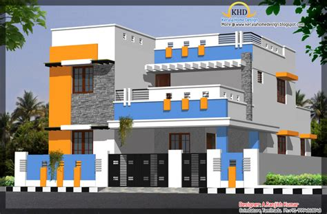 floor building design home design house elevations sq ft kerala home