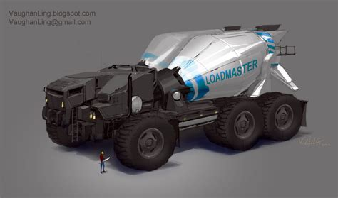 concept truck concept cars and trucks vehicle concept art by vaughan ling
