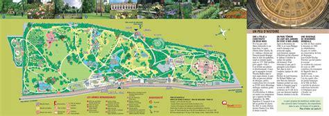 Plan Parc De Bagatelle  Carte Parc De Bagatelle (france