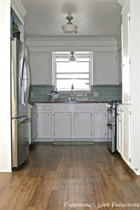 colors for my kitchen small white kitchen makeover with built in fridge 5581