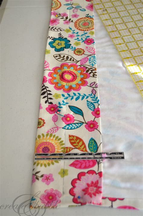 Drapes Made Easy - an easy way to make lined curtains create and babble