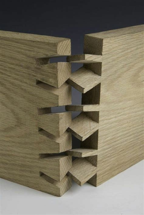 twisted dovetail joint japanese joinery