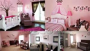 Deco Chambre Fille Princesse : decoration chambre fille en princesse ~ Teatrodelosmanantiales.com Idées de Décoration