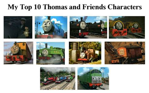 yong magic my top 10 and friends characters by