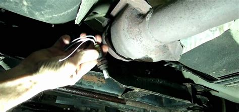 fix trouble code p  rear oxygen sensor
