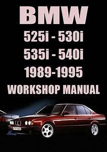 Bmw E34 525i  530i  535i  540i 1989