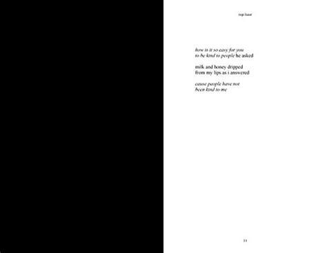 Libro Milk And Honey Di Rupi Kaur