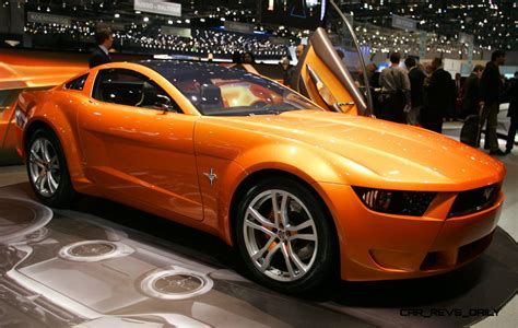 Ford Mustang Concept by 2006 Giugiaro Ford Mustang Concept Was Ringer Vs In House