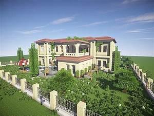 California Mansion – Minecraft House Design