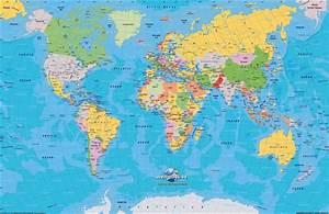 Carte Du Monde Metallique : cartes du monde arts et voyages ~ Teatrodelosmanantiales.com Idées de Décoration