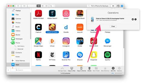how to use iphone apps on mac how to backup install apps on iphone or from mac or