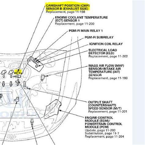 Honda Accord Camshaft Position Sensor