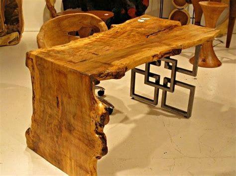 Furniture Natural Wood Color Wall Shelf Home Decor: Best 25+ Live Edge Furniture Ideas On Pinterest
