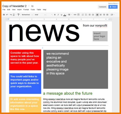poster template docs doc template newsletter calendar doc