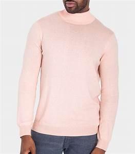 Pull Colle Roulé Homme : pale pink 30 silk 70 cotton mens silk and cotton ~ Melissatoandfro.com Idées de Décoration