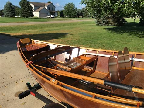 Wooden Boats For Sale In Michigan by Wooden Drift Boat For Sale Michigan Sportsman