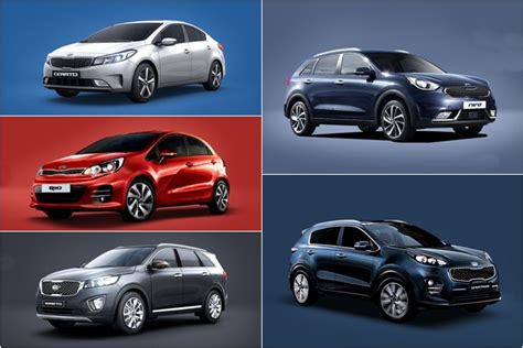 Kia Lineup by 2017 Kia Lineup Auxdelicesdirene