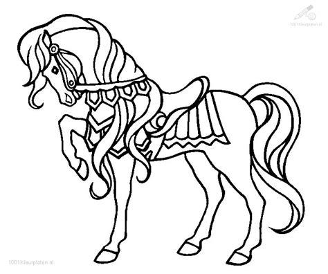 Dieren Kleurplaten Paarden by Kleurplaat Paard