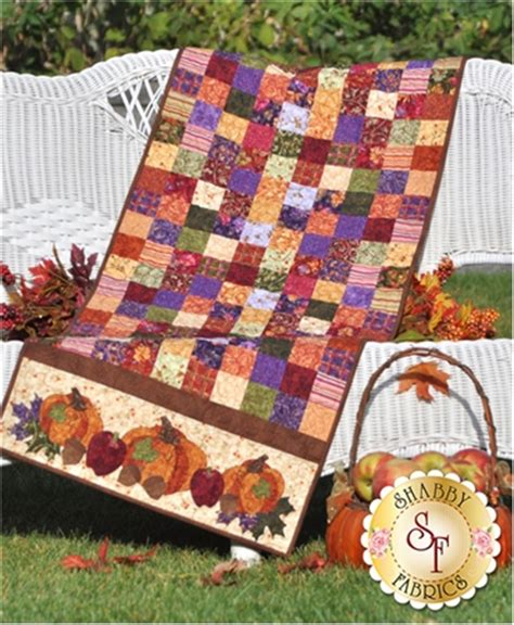 shabby fabrics idaho bountiful harvest table runner pattern