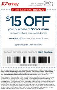 JCPenney Coupons Printable Off