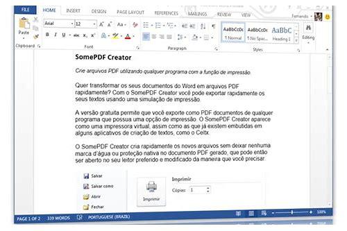microsoft word 2013 para pc baixar gratuito
