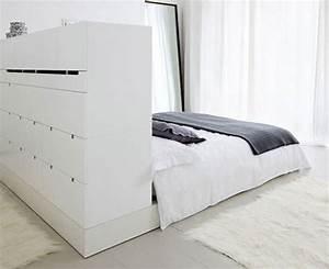Dressing Derrière Tete De Lit : t te de lit 10 solutions de rangements astucieuses et ~ Premium-room.com Idées de Décoration