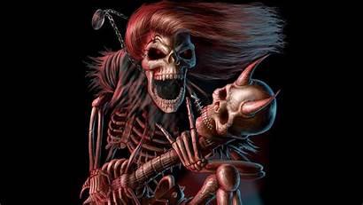 Wallpapers Desktop Skeleton 4k Skull Cool Ios