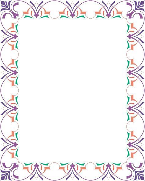 bingkai border piagam vector  tadungkung