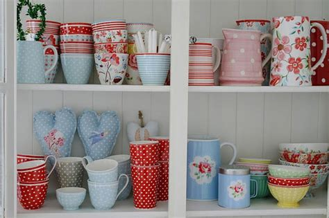 Love All Of This! Red And Aqua/light Blue Cath Kidston