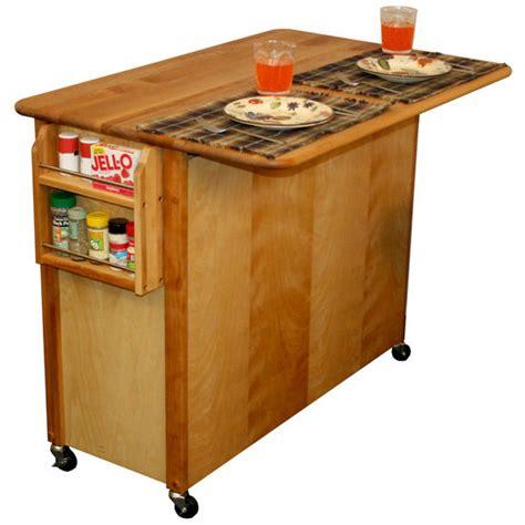 kitchen island cart with drop leaf kitchen islands carts catskill ca 54228 butcher block