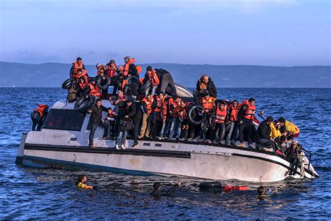 Syrian Refugees Boat by How Not To Resettle Refugees Lessons From The