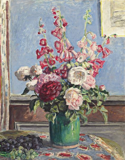 albert andre   bouquet de roses  digitales christies
