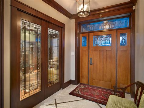 glass door holder entry traditional  french doors