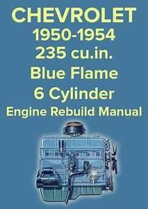 Firing Order 235 Chevrolet 6 Cylinder Engine  Inline 6