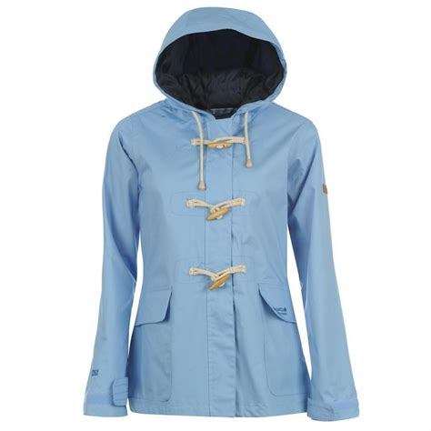 Regatta Womens Ladies Clothing Legacy Hooded Rain Jacket Breathable Waterproof